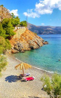 Thermas beach, Kalymnos Holiday Destinations, Vacation Destinations, Dream Vacations, Places To Travel, Places To Visit, Places In Greece, Greece Holiday, Greece Islands, Crete Greece