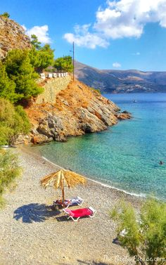 Thermas beach, Kalymnos