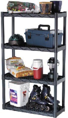 Plano Molding 924 Heavy Duty Shelving With Vents, 4-Shelf, 2015 Amazon Top Rated System Attachments #HomeImprovement
