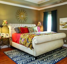 Don't be afraid of color and pattern. Check out this post.