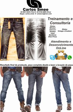 Carlos *Smee* Schimidt Blog sobre laser para jeans (About laser for jeans): design to laser engraving machine for jeans