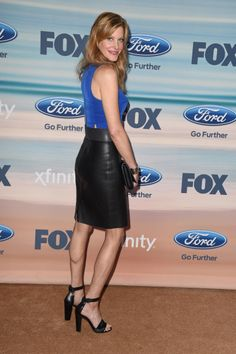 Anna Gunn attends the 2014 FOX Fall Eco-Casino party at The Bungalow on September 8, 2014 in Santa Monica, California