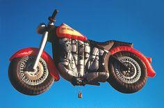 Harley Hot Air Balloon in Albuquerque New Mexico