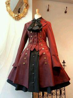 Lolita red & black