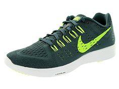 Www  Nike Men's Lunartempo Classic Charcl/Volt/Blk/White Running Shoe 8 Men US