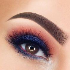"follow me @cushite @sugarpill) on Instagram: ""#sugarpill Royal Sugar loose eyeshadow really makes @paulinemartyn's gorgeous eyes shine! ✨"""