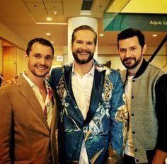 Hugh Dancy, Brian Fuller and Richard Armitage at ComicCon San Diego July 2015