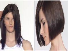 Corte cabelo feminino passo a passo fácil de fazer lindíssimo
