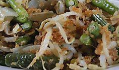 gudangan,sambal gudangan,surinaamse groenten met kokos,javaans-surinaamse groenten,surinaamse recepten,surinaams eten,indonesische recepten,