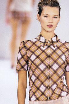 "jai-by-joshua: "" Kate Moss @ Miu Miu S/S 1996 """