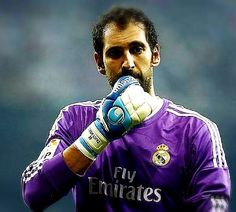 Diego Lopez... Some said he deserved to be a striker more than a goal-keeper... Well, I've to say, I was all impressed with his skill in goal-keeping but after a few matches, he changed my thoughts. ^^