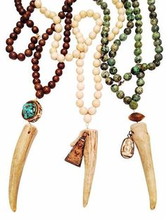 Antler Tip Necklace Collection