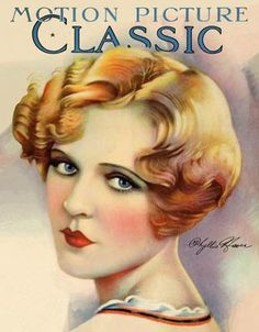 MOTION PICTURE CLASSIC Magazine ~~ Illustrator Phyllis Hayer
