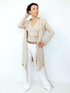 KARDIGAN/SUKIENKA by momo Duster Coat, Jackets, Fashion, Down Jackets, Moda, Fashion Styles, Fashion Illustrations, Jacket