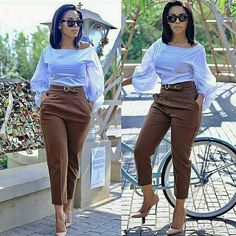2019 Beautiful Casual Work Inspirations for Women casual work outfits casual work outfit. Formal Casual Outfits, Casual Work Attire, Classy Work Outfits, Business Casual Attire, Classy Casual, Chic Outfits, Dress Outfits, Office Outfits, Business Chic