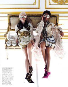 More is More   Hannah Glasby, Mélie   Chris Nicholls #photography   Flair Magazine September 2012