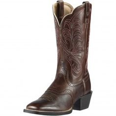 Ariat Brown Mesquite Cowgirl Boots