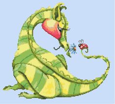 9868 A gift for you! Dragon 1 of 12 - Click Image to Close Diane Allarie - Kustom Krafts Dragon Cross Stitch, Cross Stitch Fairy, Cross Stitch Kits, Cross Stitch Patterns, Dragon Dreaming, Dragon Crafts, Across The Universe, Fantasy Dragon, Crochet Cross