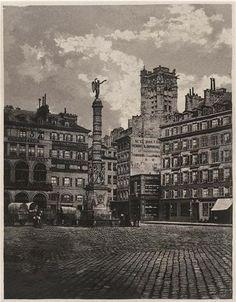 1858 - La Place du Châtelet | PARIS UNPLUGGED