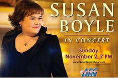 Susan Boyle to perform in Melbourne - VieraToday - June 2014 American Tours, Newspaper, Melbourne, The Voice, June, Concert, Recital, Concerts, Magazine
