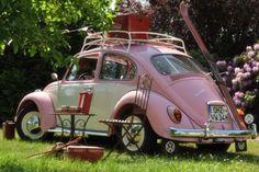 Vw bug pink ♥