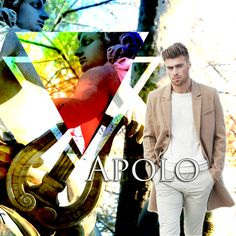 Apolo, dios de la divina distancia y el sol, de la profecía y la belleza masculina, de la luz de la verdad y el arte.