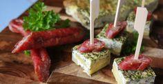 Hessische Tapas; Frittata mit Kartoffeln und sieben Kräutern für Frankfurter Grüne Soße