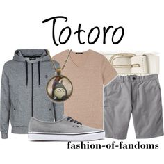 """Totoro"" by fofandoms on Polyvore"