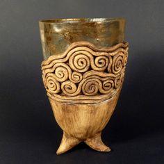 Doba bronzová - váza s háďaty Crock, Porcelain, Bronze, Pottery, Decor, Ceramica, Crockpot, Porcelain Ceramics, Decoration