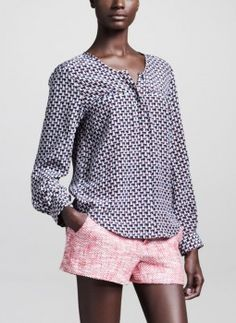 Joie Merci Tweed Shorts worn by Paige Collins on Royal Pains. Shop it: http://www.pradux.com/joie-merci-tweed-shorts-30825?q=s14
