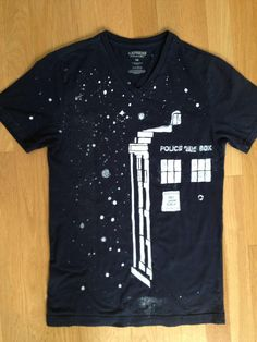 Just finished my TARDIS shirt! - Imgur