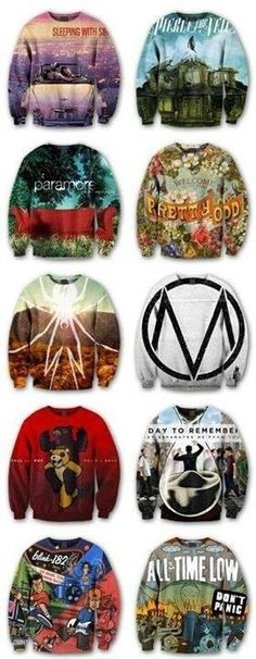 I hope one day I have all of these sweater >.< ❤️❤️