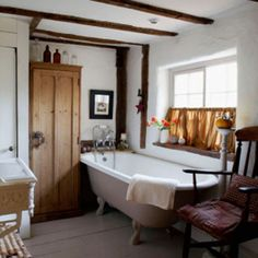 old country bathroom