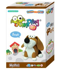 Create your very own Beagle Puppy with this simple to follow, step-by-step DIY kit - My Pet Beagle - Clay Modelling Kit from JumpingClay, the world's best air drying modelling clay.