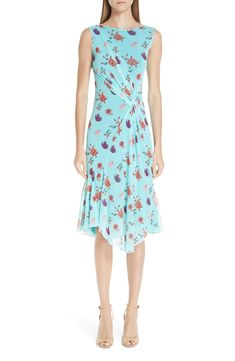 online shopping for Fuzzi Floral Tulle Gathered Dress from top store. See new offer for Fuzzi Floral Tulle Gathered Dress Work Dresses For Women, Clothes For Women, Latest Clothing Trends, Daytime Dresses, Asymmetrical Skirt, Blue Fashion, Women's Fashion Dresses, Fashion Clothes, Nordstrom Dresses