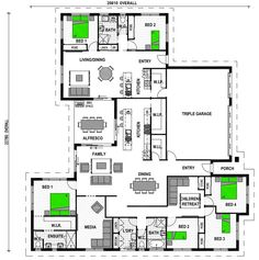 Granny flat  House plans and Flats on PinterestHighgrove     attached granny flat