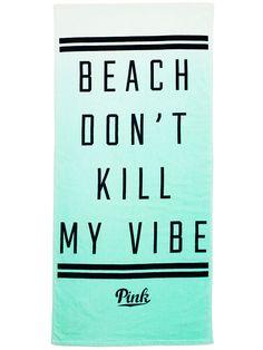 Beach Towel - PINK - Victoria's Secret