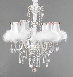 Chabby Chic Chandelier