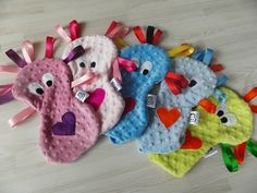 Cuddle Monsters in the making... available to order from www.facebook.com/cuddlemonstercrafts
