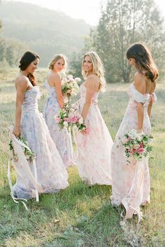 Bridesmaids #pastelcolours ♡ Damigelle d'onore #coloripastello