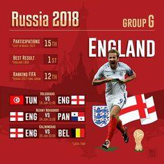 England in the World Cup  Group G .  #GroupG #WorldCup #Russia2018 #Belgium #Belgie #BEL #Panama #PAN #Tunisie #TUN #England #ENG #Moscow #Kaliningrad #Sochi #NizhnyNovgorod #Volgograd .  Source #FIFA and Wiki .  #countries #maps #map #flags #flag #infographic #football #soccer #travels #forpix #inforpx .  @harrykane @england @visitengland #tottenham .  Design @mmcasimiro  Follow @inforpx @forpixdesign