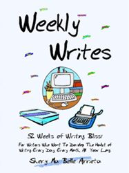 WEEKLY WRITES: 52 Weeks of Writing Bliss!  Here are some great creative writing prompts. The kids will love them. Fill a jar with them and let the kids pick a random prompt every day to fill a notebook. FUN STUFF!
