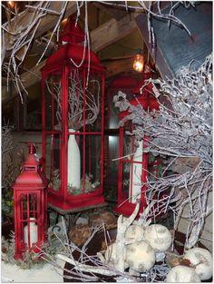 Christmas display by Carol Herman.