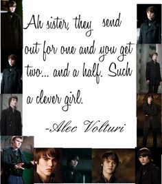 An art collage from August 2012 Twilight New Moon, Twilight Series, Alec Volturi, Cameron Bright, Stephanie Meyers, Midnight Sun, Perfect Man, Clever, Sisters