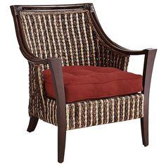 Caraga Armchair - Dark Brown   Pier 1 Imports