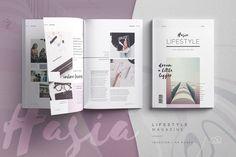 Finley Magazine | Creative InDesign Templates ~ Creative Market
