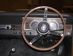 Ford Falcon XR GT Dashboard and steering wheel