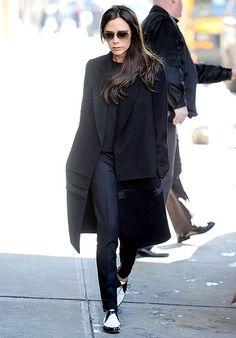 Victoria Beckham looks chic running errands in NYC on Feb. 10