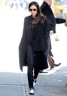 Victoria Beckham looks chic running errands in NYC on Feb. 10