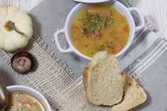 Rezept für Omas Graupensuppe/Graupeneintopf mit Cabanossi, Herbstlicher Eintopf, kochen im Thermomix